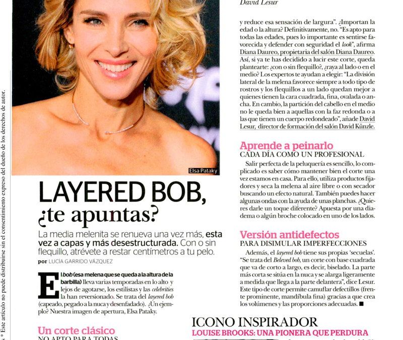 Revista MIA: Layered Bob