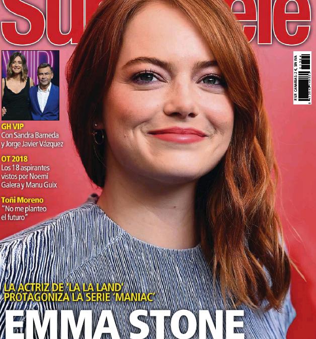 David Kunzle en Revista Supertele Septiembre 2018
