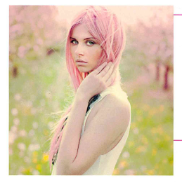 Revista Hogares: Cabellos Rosas